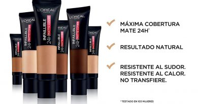 Maquillaje ligero mate cover 24 horas