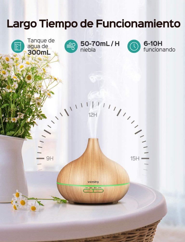 Difusor de aromaterapia y humidificador