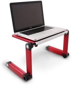 Soporte para portátiles y tablets color rojo