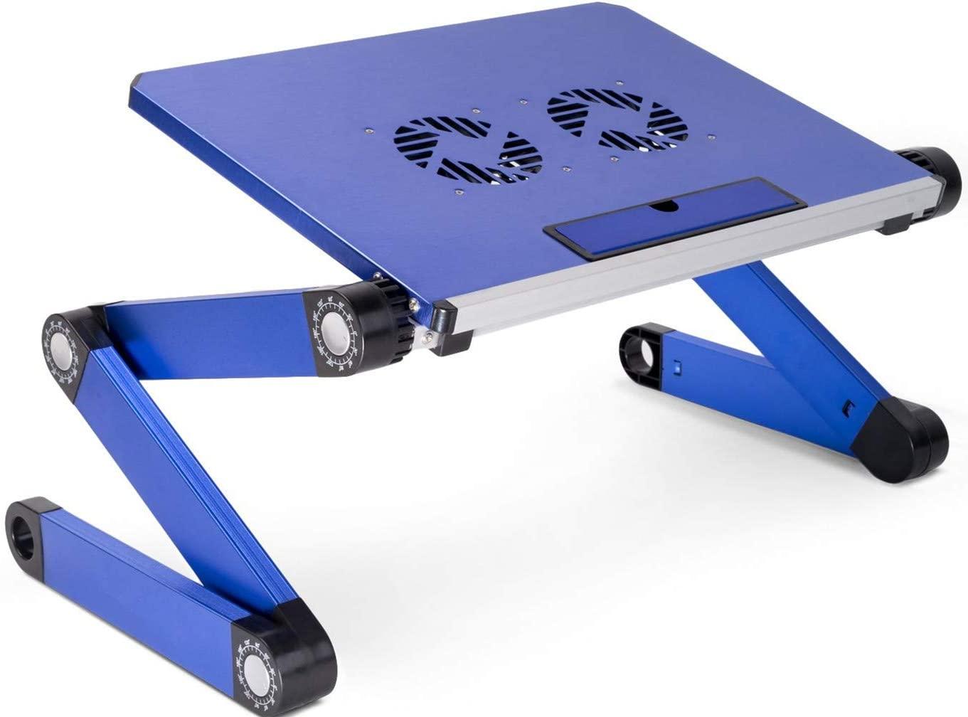 Soporte para portátiles y tablets color azul
