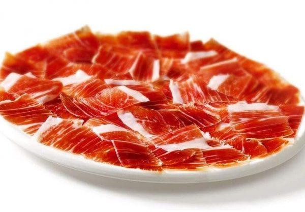Jamón serrano producto de España