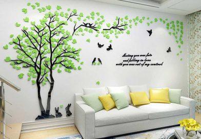Vinilos adhesivos para decorar la pared de tu casa
