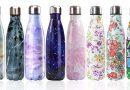 Botellas de agua reutilizables y ecológicas